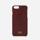 Набор для iPhone Native Union Leather Edition iPhone 6/6s Bordeaux фото- 1