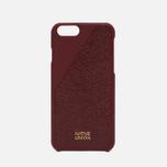 Native Union Leather Edition Set iPhone 6/6s Case Bordeaux photo- 1
