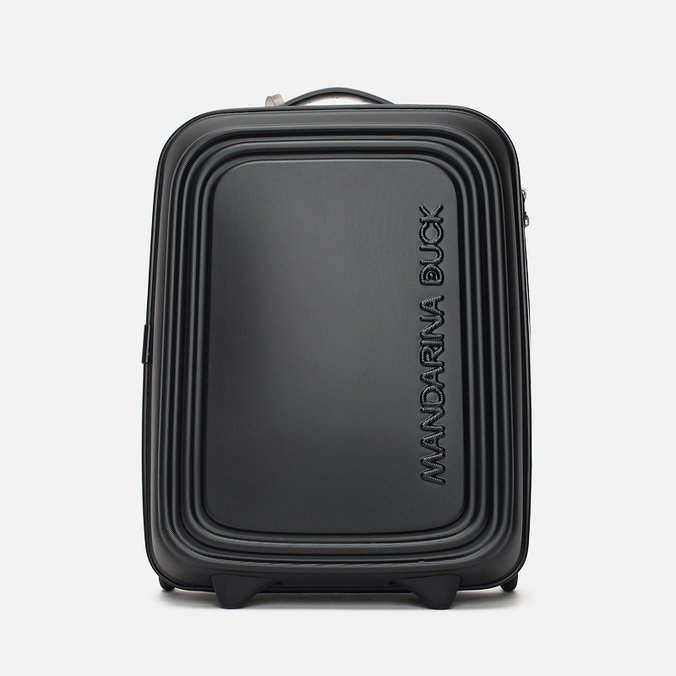Mandarina Duck Logoduck Trolley V11 Suitcase Black