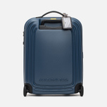 Mandarina Duck Logoduck Trolley V11 Suitcase Dark Denim photo- 3