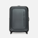 Mandarina Duck Logoduck Trolley V12 Suitcase Black photo- 0