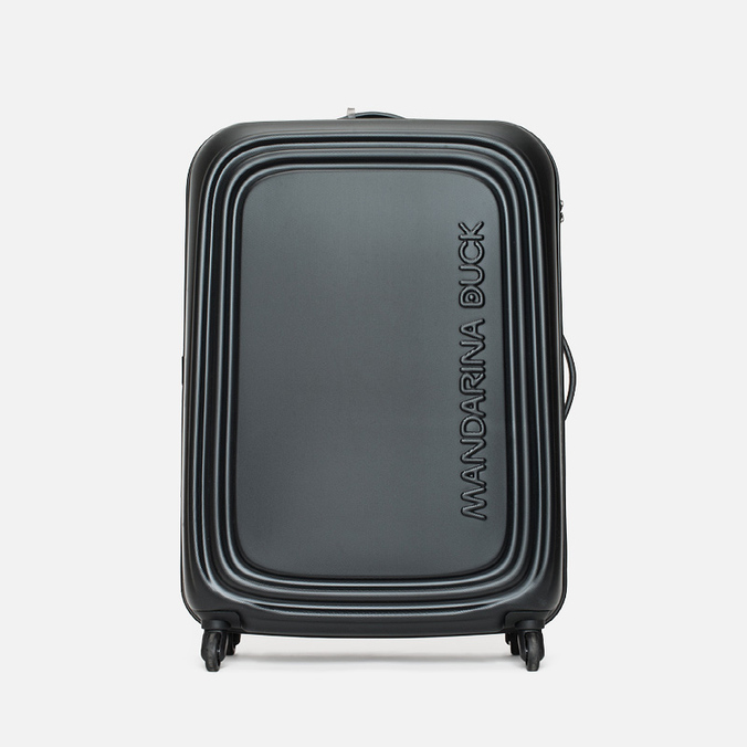 Mandarina Duck Logoduck Trolley V12 Suitcase Black