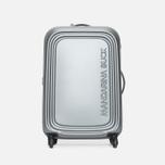 Mandarina Duck Logoduck Trolley V12 Suitcase Grigio photo- 0