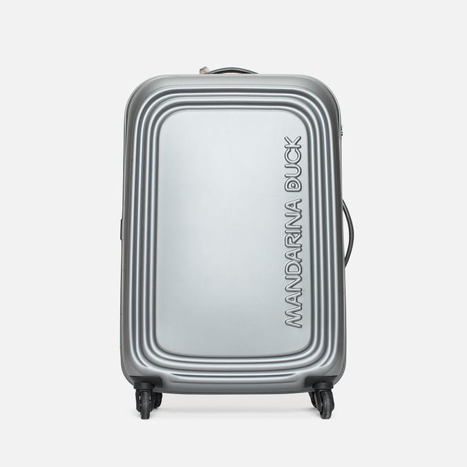 Mandarina Duck Logoduck Trolley V12 Suitcase Grigio