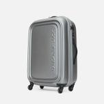 Mandarina Duck Logoduck Trolley V12 Suitcase Grigio photo- 1