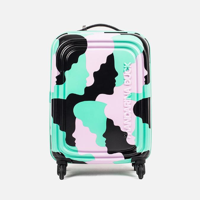 Mandarina Duck Logoduck Trolley V24 Suitcase Green Camo