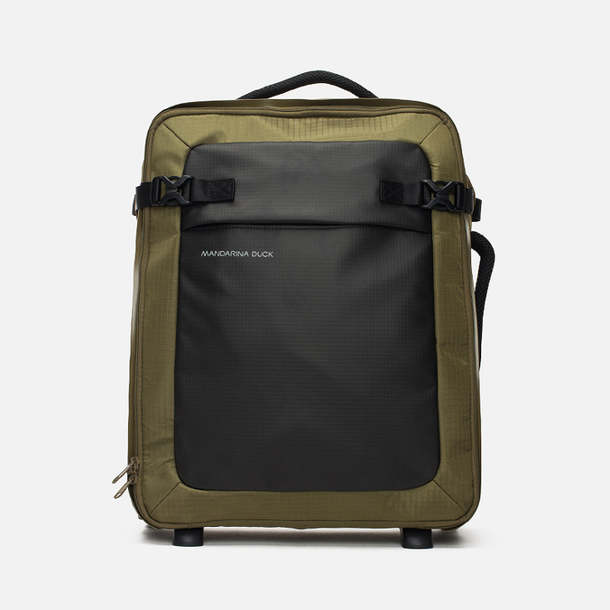 Дорожный чемодан Mandarina Duck Rebel Trolley V01 Military Olive