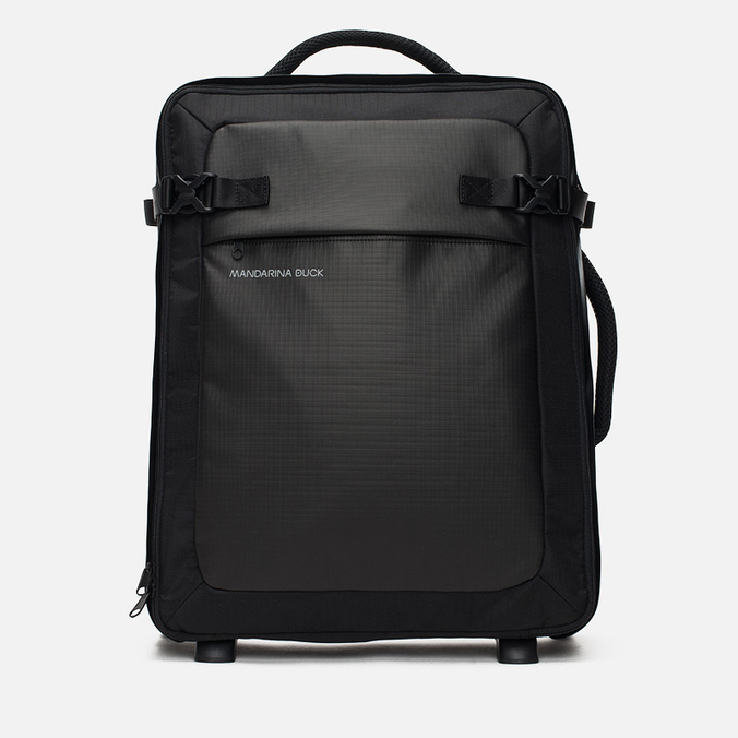 Mandarina Duck Rebel Trolley V02 Suitcase Black