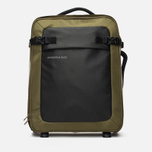 Дорожный чемодан Mandarina Duck Rebel Trolley V02 Military Olive фото- 0
