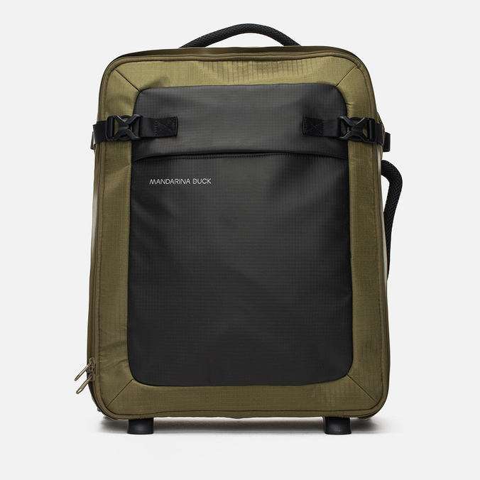 Дорожный чемодан Mandarina Duck Rebel Trolley V02 Military Olive