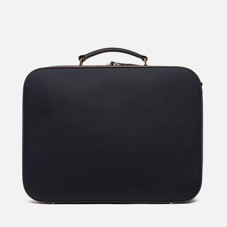 Чемодан Mismo Suitcase Navy/Dark Brown