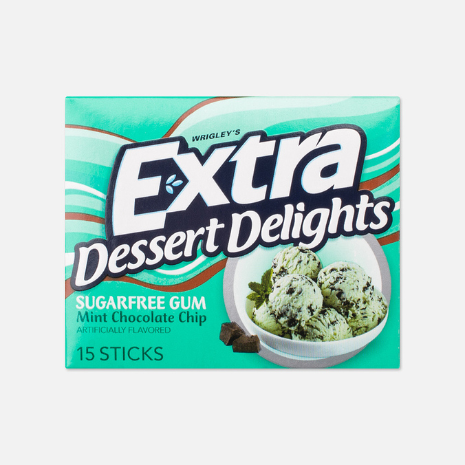 Extra Mint Chocolate Chip Chewing Gum