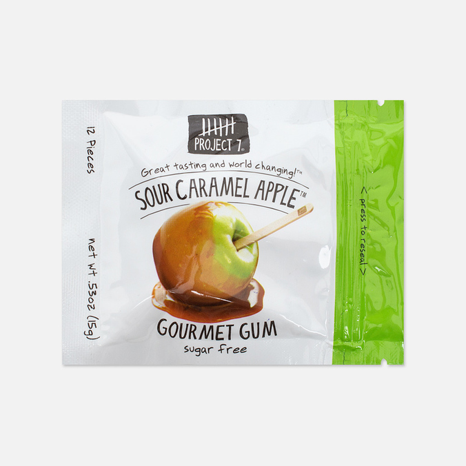 Project 7 Caramel Apple Chewing Gum