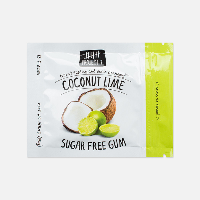 Project 7 Coconut Lime Chewing Gum