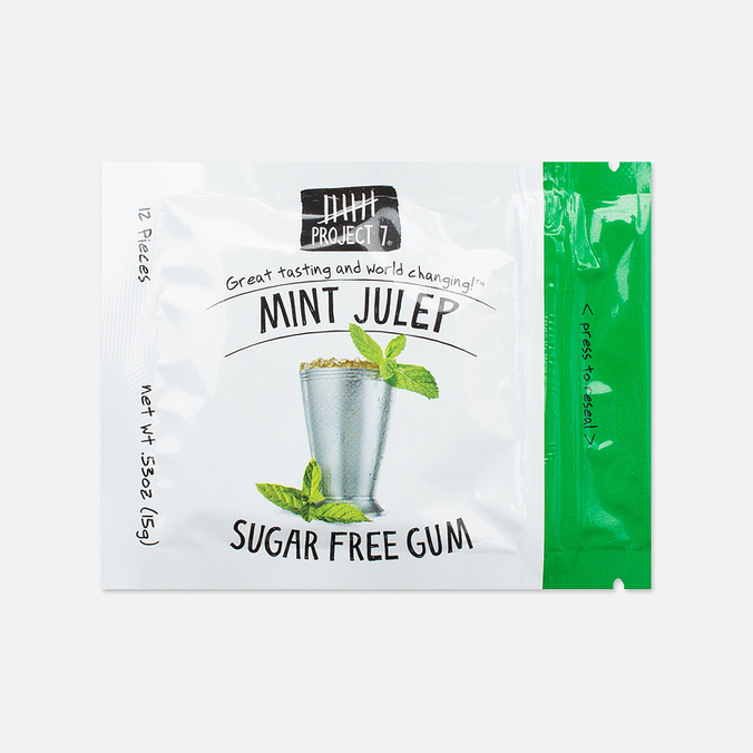 Project 7 Mint Julep Chewing Gum