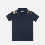 Barbour Cromwell Children's Polo Navy photo- 0