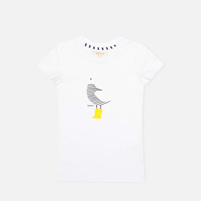 Детская футболка Barbour Laxley White