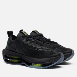 Женские кроссовки Nike Zoom Double Stacked Black/Volt/Black