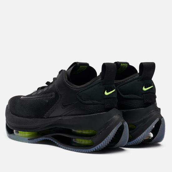 Женские кроссовки Nike Zoom Double Stacked Black/Volt/Black