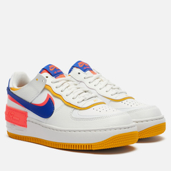 Женские кроссовки Nike Air Force 1 Shadow Summit White/Astronomy Blue