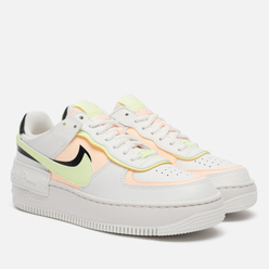 Женские кроссовки Nike Air Force 1 Shadow Summit White/Crimson Tint/Black