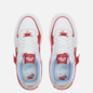 Женские кроссовки Nike Air Force 1 Shadow Summit White/University Red/Gym Red фото - 1