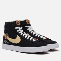 Кроссовки Nike Blazer Mid 77 Pomegranate Black/Solar Flare/White/Black