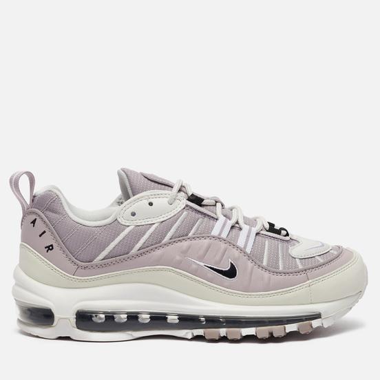 Женские кроссовки Nike Air Max 98 Silver Lilac/Black/Platinum Violet