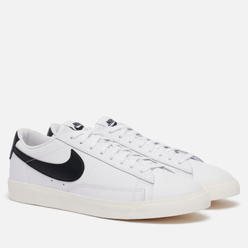 Мужские кроссовки Nike Blazer Low Leather White/Black/Sail