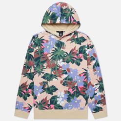 Мужская толстовка Nike SB Paradise Floral Hoodie Fossil/Fossil/Digital Pink