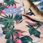 Мужская толстовка Nike SB Paradise Floral Hoodie Fossil/Fossil/Digital Pink фото - 1