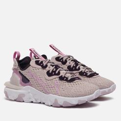 Женские кроссовки Nike React Vision Platinum Violet/Beyond Pink/Cave Purple