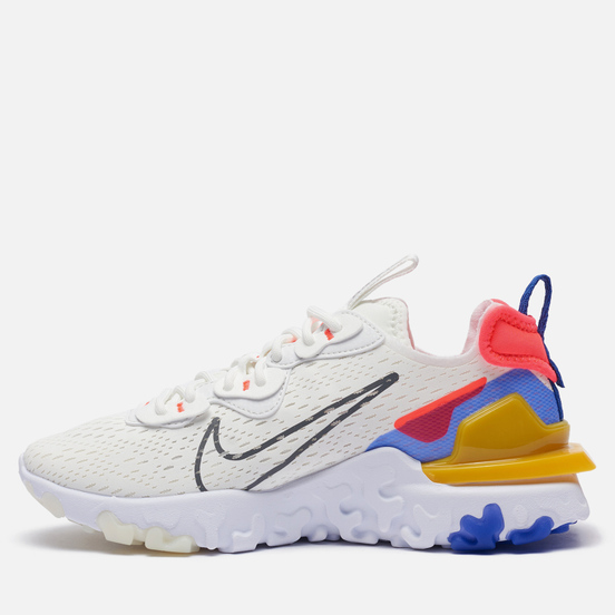 Женские кроссовки Nike React Vision Summit White/Iron Grey/Astronomy Blue