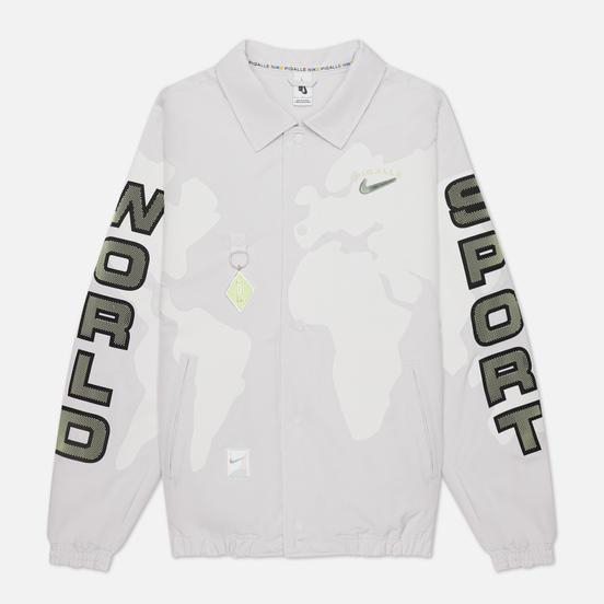Мужская куртка ветровка Nike x Pigalle NRG Vast Grey