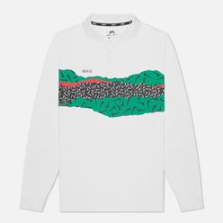 Мужской лонгслив Nike SB x Ben-G Dry Polo QS White/Black