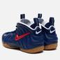 Мужские кроссовки Nike Air Foamposite Pro Blue Void/University Red/Gum Light Brown фото - 2