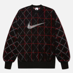 Мужская толстовка Nike NRG Classic x Sport Crew Black/White/Gym Red