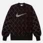 Мужская толстовка Nike NRG Classic x Sport Crew Black/White/Gym Red фото - 0