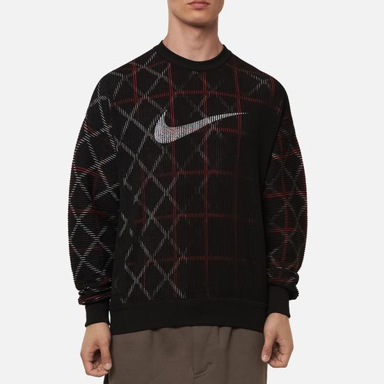 Мужская толстовка Nike NRG Classic x Sport Crew Black/White/Gym Red