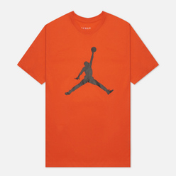 Мужская футболка Jordan Jumpman Crew Orange/Black