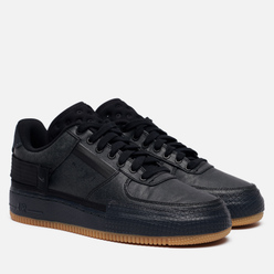 Кроссовки Nike Air Force 1 Type Black/Anthracite/Gum Light Brown