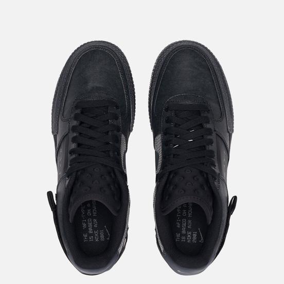 Кроссовки Nike Air Force 1 Type Black/Anthracite/Gum Light Brown