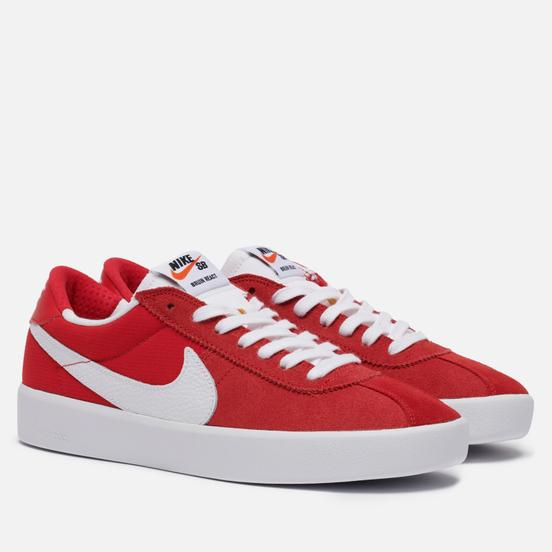 Мужские кроссовки Nike SB Bruin React University Red/White/University Red