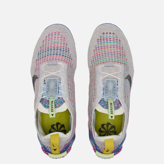 Мужские кроссовки Nike Air Vapormax 2020 Flyknit Pure Platinum/Black/Multi-Color