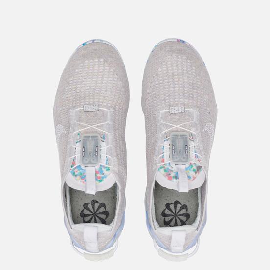 Мужские кроссовки Nike Air Vapormax 2020 Flyknit White/Summit White/White