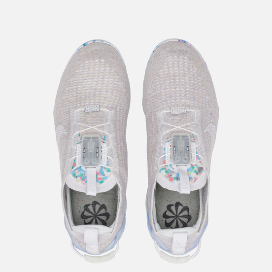 Женские кроссовки Nike Air Vapormax 2020 Flyknit White/Summit White/White
