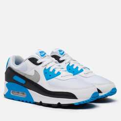Мужские кроссовки Nike Air Max III White/Black/Grey Fog/Laser Blue