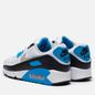 Мужские кроссовки Nike Air Max III White/Black/Grey Fog/Laser Blue фото - 2