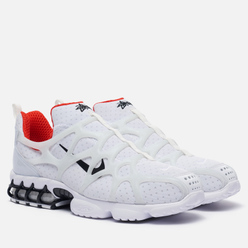 Мужские кроссовки Nike x Stussy Air Zoom Spiridon Cage 2 Kukini White/Black/Habanero Red