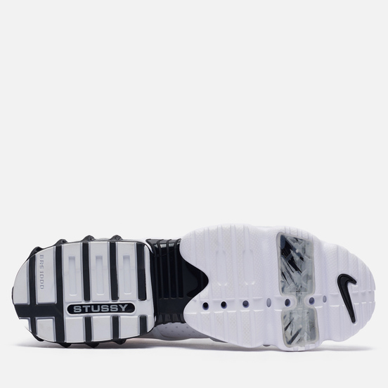Мужские кроссовки Nike x Stussy Air Zoom Spiridon Cage 2 Kukini White/Black/Habanero Red